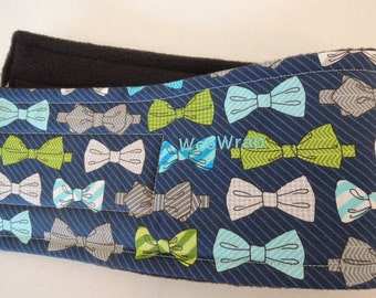 WeeWrap, Bow Tie Dog Diaper Stops Marking, Personalized