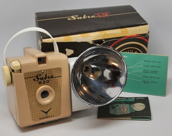 TAN Sabre 620 with box, flash and instructions