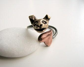 Chihuahua dog love ring