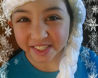 CROCHET PATTERN - Frozen Queen Hat