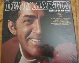 Dean Martin, Vinyl LP Record Album,  Gentle On My Mind, by Nanas Vintage Shop