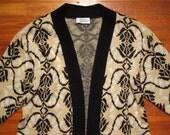 women's vintage oversized sweater.