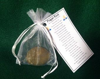 Prayer Rock with Poem