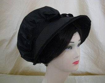 CUSTOM Regency Bonnet. Jane Austen. 'MARIANNE' Your choice of colour/fabric/trims.