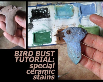 INSTANT DOWNLOAD: PDF Bird Tutorial Excerpt from Direct-Sculpting Master Class