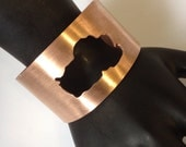 Made To Order - Large Lake Tahoe Copper Cuff