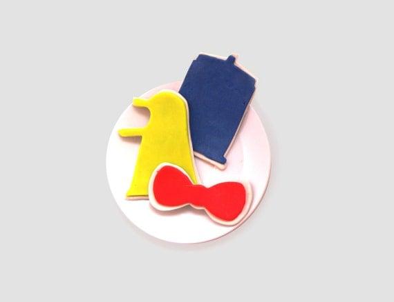 SALE: Timey Wimey, Whovian Cookie Cutter Set