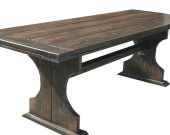 8 foot Heather table