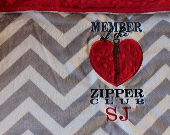 baby blanket, minky blanket, personalized baby blanket, CHD blanket, CHD warrior, personalized blanket