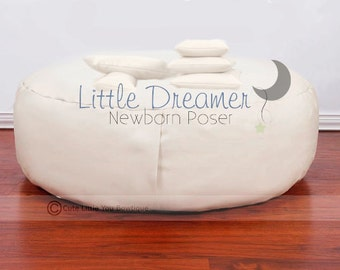 SALE Newborn Poser Bean Bag Posing Photography Prop and Positioning Set