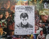 NECRONOMICON 29 UK horror fanzine zine March 2014 Psycho Norman Bates retro cheese