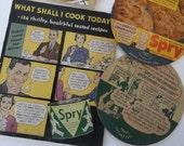 Vintage Advertisement, Spry ad, Pet Milk ad, Kitchen advertisement, vintage kitchen, vintage cookbook