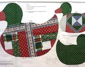 Duck Print Cutout  Vintage 1980s Stuffed Animal or Applique DIY Craft