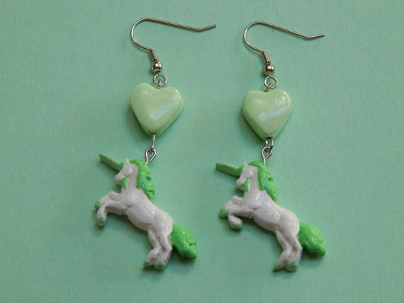Sweet Unicorn Earrings AVAILABLE  in 7 COLORS