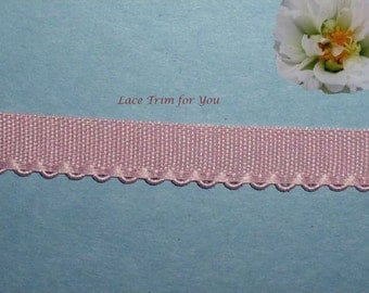 Rose Fabric Trim 10/20 Yards Woven Picot Edging 1/2 inch wide Lot M104 Added Items Ship No Charge