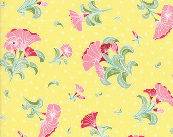 Pedal Pushers - Large Bouquet in Sun by Lauren & Jessi Jung for Moda Fabrics