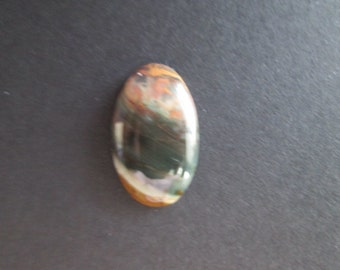 Morrisonite jasper cabochon- 9x22 mm