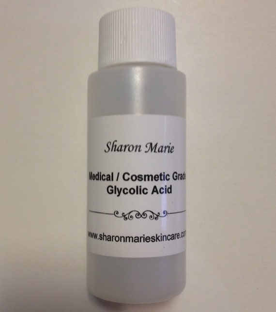 30%Glycolic Acid 4 oz. Medical grade/ ANTI: Wrinkle, Acne, Scars, Saggy Skin, Age Spots, Uneven skin tone