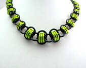 Barrel Ride Chainmaille Necklace - Choose your color