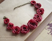 Antique Rose bracelet