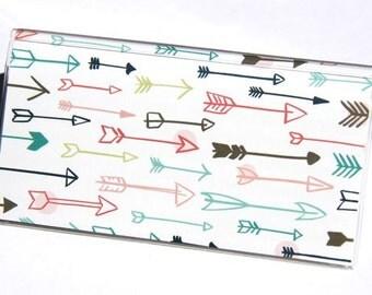 CHECKBOOK COVER - Sketchy Arrows