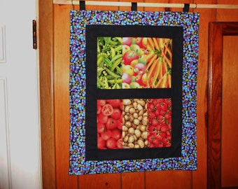 """My Farmers Market""""Wall Hanging""""  Quilt"""