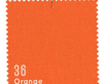 SALE-Orange - American Made Brand Cotton Solids from Clothworks - LAST Yard