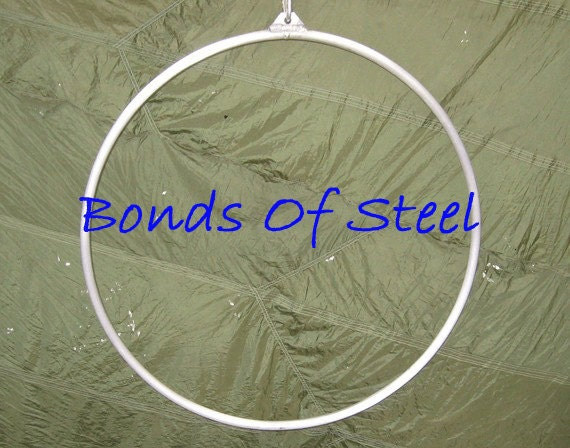 Aerialist Hoop Lyra Single Point BDSM Bonds of Steel Mature