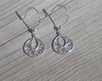 Sterling Silver Earrings  - Gifts for Her - Mother's Day Gift