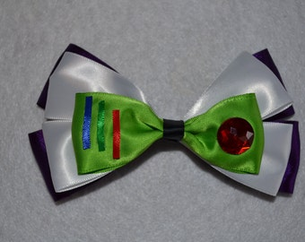 Buzz Lightyear Hair Bow