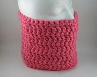 Classic Chunky Cowl - Honolulu Pink Rose