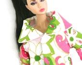 Lipstick Jacket Set For 12inch Girl Doll