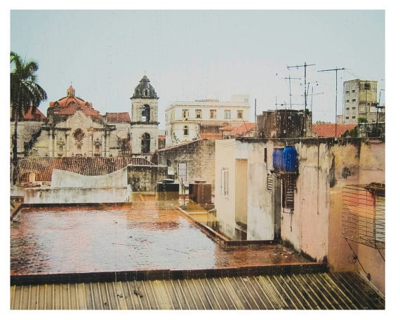 Art, Photography, Cuba, Havana, 8x10 and Larger Print, Wall Art, Coastal Home Decor