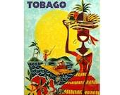 TRINIDAD and TOBAO 5S- Handmade Leather Journal / Sketchbook - Travel Art