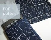 sashiko sampler - - modern embroidery pattern