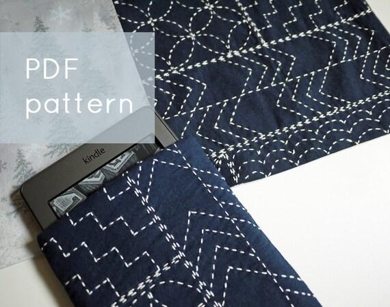 Sashiko sampler modern embroidery pattern