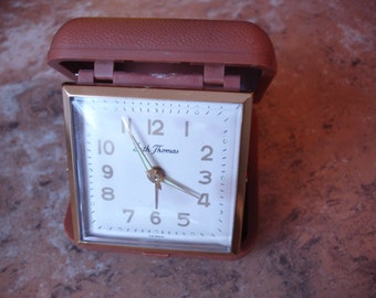Vintage Seth Thomas Travel Alarm Clock
