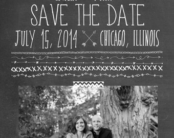 Arrows Save the Date