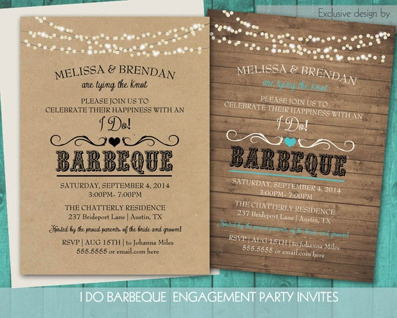 Bbq Wedding Invitations is the best ideas you have to choose for invitation example