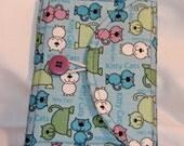 Sale! Small Fabric Notebook Clutch