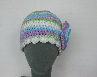 Chemo Cap Hat Crochet PDF Pattern No 15, Permission To Sell Finished Items
