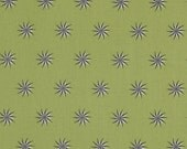 Star Fabric by the Yard Cotton Vintage Stars in Shade Tula Pink Fox Field One Yard