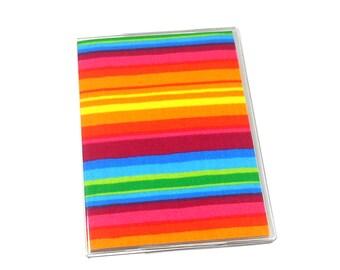Passport Cover Rainbow Stripes