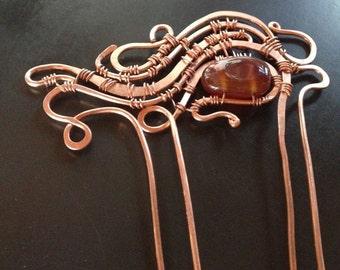 Copper Hair Fork