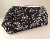 Clutch Purse - Paisley Fun