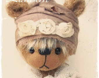 bear pattern stuffed teddybear PDF Lillibeth 7.75 inch by ASTRIDBEARS sewing artist bear Instant Download