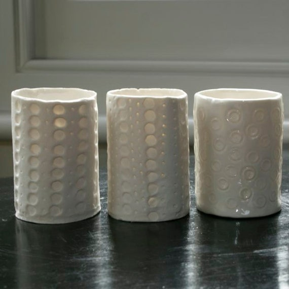 Decorative Porcelain Tea Light Holders By Studio306collective