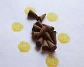 Lemon Scented Cone Incense - Incense Cones - Aromatherapy - Aroma - Essense - Home Decor - Gift for Adults