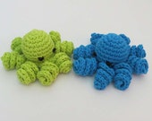 Catnip Octopus with Curly Legs - Choose Your Colors - Catnip Toy