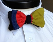 The Walt- Our disney themed bowtie in Goofy colors